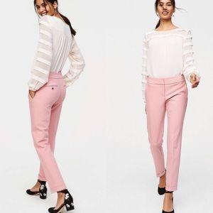 Loft Blush Marisa Fit Pants Trousers Sim Fit 0